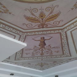 Leo von Klenze architect printed stretch ceiling.