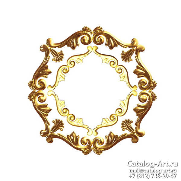 3D Gold decors 11