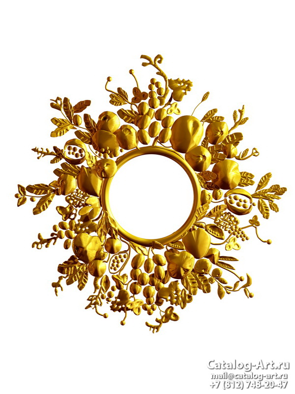 3D Gold decors 39