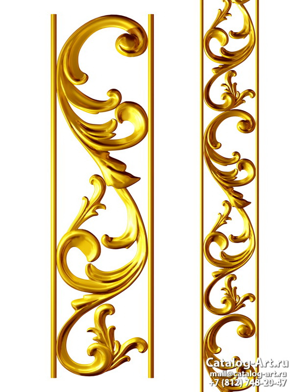 3D Gold decors 49